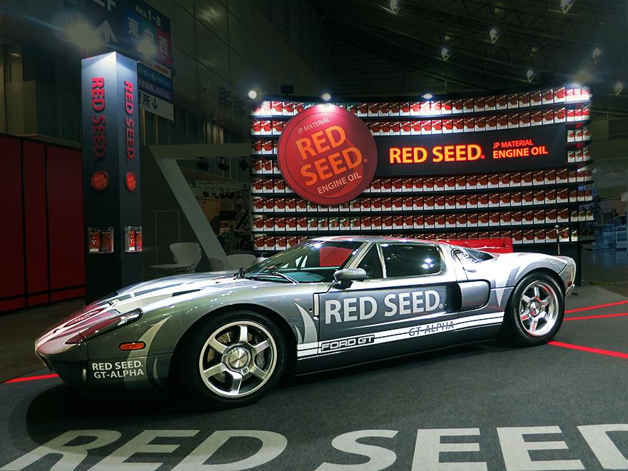 東京オートサロン2016 RED SEED ブース大盛況です!